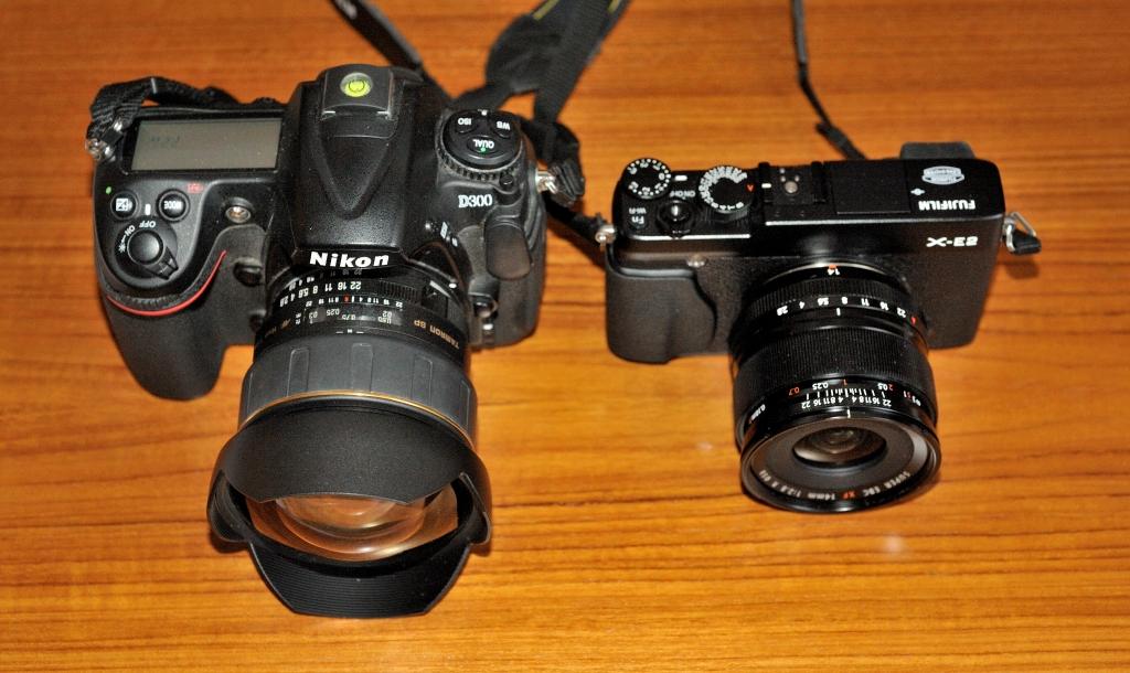 Fuji X statt Nikon F